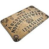 Msanlixian Welcome Doormat Vintage Ouija Board Skull Evil Non-Slip Doormats Indoor/Outdoor/Front Door Mats Floor Mat Entrance Rug 19.5 X 31.5 in for Bathroom Bedroom Kitchen