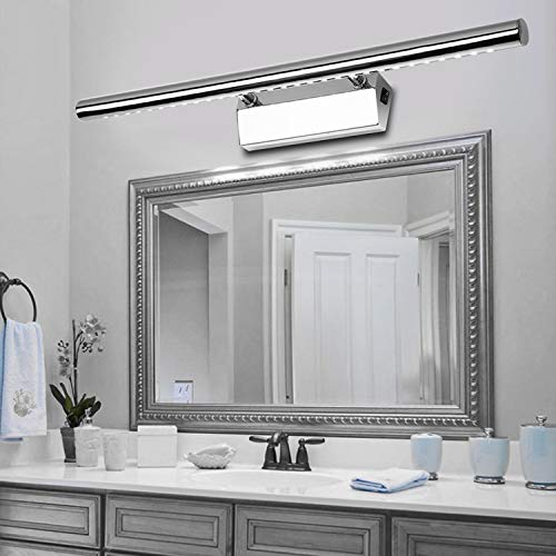 BAODE Spiegellampe LED Spiegelleuchte mit Schalter 15W/105cm Neutralweiß Spiegellicht Badleuchte Schrankleuchte Badleuchte Schrankleuchte Wandlampe Spiegellampe