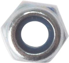 Forgefix Zeshoek Moer & Nylon Insert ZP M10 Tas 50 - zilver