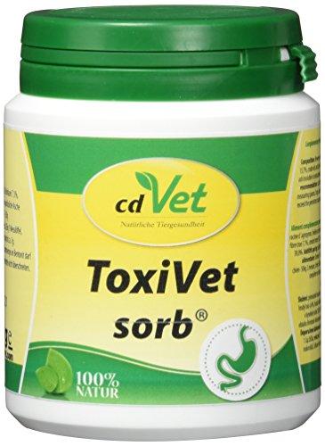 cdVet Naturprodukte ToxiVet sorb 150 g - Hund, Katze - Ergänzungsfuttermittel - Durchfall - Unterstützung der Organfunktion + Verdauungsorgane + Immunsystem - essentielle Aminosäure - Vitamine -, 478