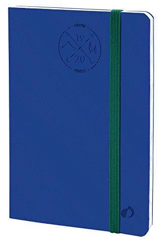 Quo Vadis 14900320MQ Anno 2020 PLANNING 21 16 MESI ML Everest, 15 x 21 cm, Elastico, Settimanale - Sett/Dic, Blu
