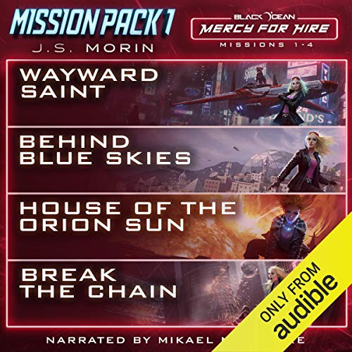 Mercy for Hire Mission Pack 1: Missions 1-4 audiobook cover art