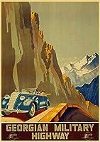 ヴィンテージソビエト旅行ポスター-大人のための1000ピースのジグソーパズルジグソーパズル 楽しい屋内活動知的減圧ファミリーゲーム