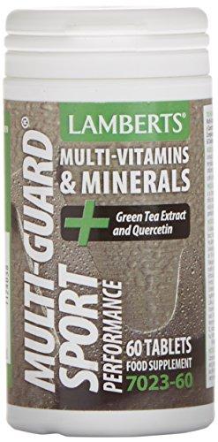 Lamberts Multi-Guard Sport Combinación de Multivitaminas - 60 Tabletas