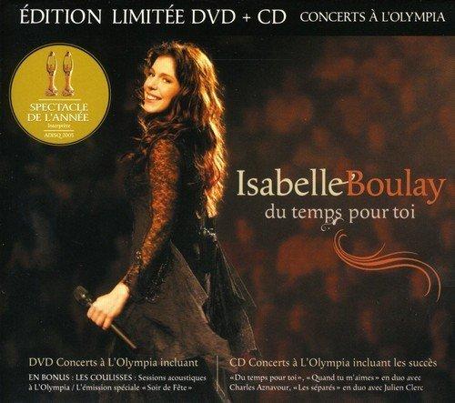 Du Temps Toi Live a L'Olympia De Paris by Isabelle Boulay (2005-05-03)