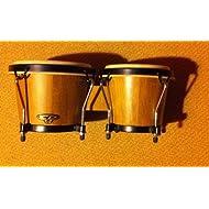Latin Percussion CP221-AW Traditional Wood Bongos - Natural