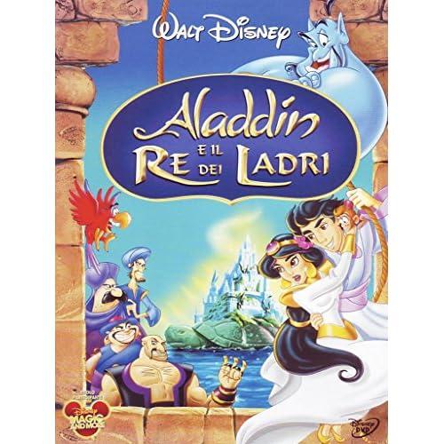 Videosystem 54199 Aladdin Re dei Ladri Disney DVD