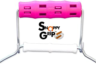 HOT PINK Bucket Wrangler by Snappy Grip - Ergonomic Handle Hook Attaches Without Removing Original Bucket Handle For Ease & Comfort! (1)
