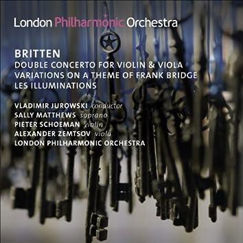 Britten, B.: Double Concerto / Variations On A Theme of Frank Bridge / Les Illuminations