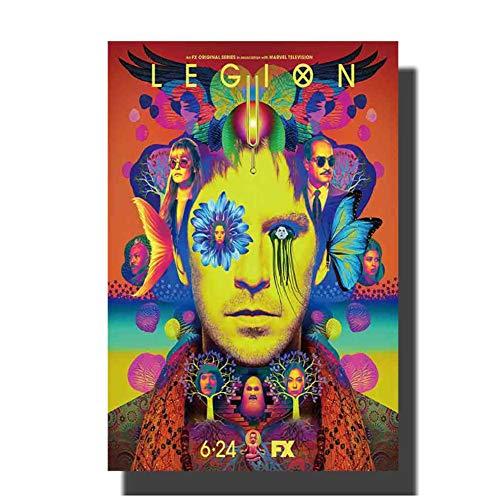 chtshjdtb Legion Movie Art Poster und Drucke Leinwand Malerei Home Wanddekoration -50X75Cm No Frame 1 Pcs