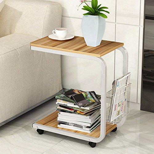 NA moderne minimalistische koffietafel, slaapkamer tafel, mobiele nachtkastje, woonkamer mini-bank/theetafel/mobiele bureau/laptop tafel