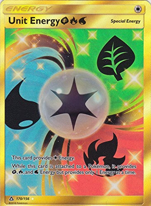 Pokemon TCG Unit Energy GFW - 170 156 - Secret Rare - Sun & Moon  Ultra Prism