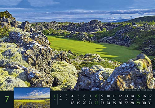 Golf 2018 – Sportkalender / Golfkalender international (49 x 34) - 11