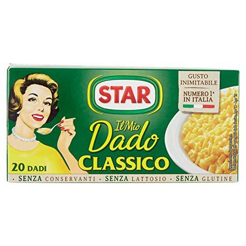 Star Dadi Brodo, Ricchi di Sapore, Verdure e Olio Extravergine d'Oliva 20 Dadi, 200g