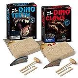KingbeefLIU Kit De Fouille De Creusement De Dent/Griffe De Dinosaure Bricolage Jouet éducatif pour Les Enfants Griffe*None