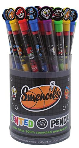 Smencils T8000 Scented Sports Pencils