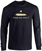 Pop Threads Come and Take It Flag Full Long Sleeve Tee T-Shirt