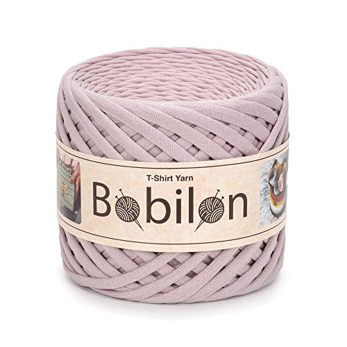 T-Shirt Yarn Fettuccini Zpagetti Style, 7-9 mm Tshirt Yarn for Crocheting, Knitting Yarn Ball, T Yarn Organic, Macrame T-Yarn, Ribbon Yarn 100% Cotton Fabric, Jersey Yarn Nude