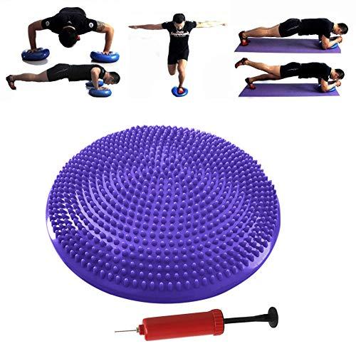 DC CLOUD Yoga Balance Trainer Balance Board Balance Cushion Balance Board Physio Balance Trainer Balance Ball Trainer Balance Pad Balance Disc purple,freesize