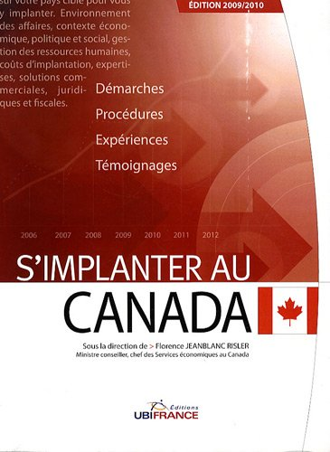 S'implanter au Canada