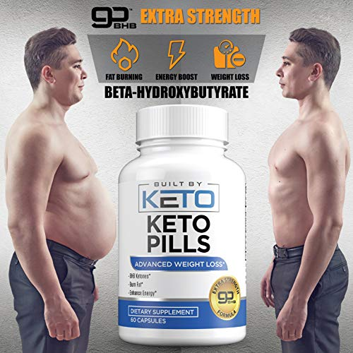 Keto Pills - Weight Loss for Women and Men - Ketogenic Diet BHB Salts - Exogenous Ketones Supplement - Burn Fat for Fuel - Xtreme Lean Ketosis Fat Burner for Fast Weightloss - 60 Capsules 7