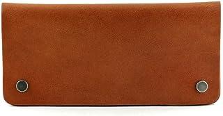 محفظة سيرا الطويلة من الجلد الطبيعي تان