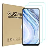 Screen Protector for Xiaomi Redmi Note 9 Pro 5G, 9H Tempered Glass Hardness Anti-Scratch, Case Friendly, HD Clear for Xiaomi Redmi Note 9 Pro 5G Tempered Glass Screen Protector Film [2 Pack]