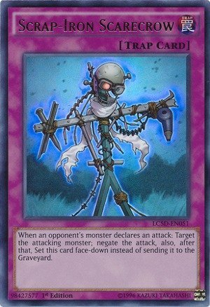 Yu-Gi-Oh! - Scrap-Iron Scarecrow (LC5D-EN051) - Legendary Collection 5D's Mega Pack - 1st Edition - Ultra Rare by Yu-Gi-Oh!