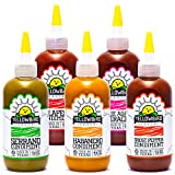 Hot Sauce Variety Pack by Yellowbird | Plant-Based, Gluten Free, Non-GMO | Homegrown in Austin | 9.8 oz (5-Pack)