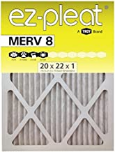 MERV 8 Fan Coil Air Filter 20x22x1 (19.5x21.5x.75), 6-Pack, For Bryant/Carrier Units