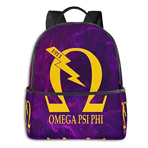 XCNGG Omega Psi Phi Travel Laptop Backpack Casual Daypack Computer Bag Gift for Men Women