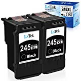 LxTek Remanufactured Ink Cartridge Replacement for Canon PG-245 PG-245XL 245XL 245 XL PG-243 to use with Pixma MX492 TR4520 TS3120 MG2420 MG2522 MX490 MG2920 MG2922 MG2520 IP2820 (2 Black-High Yield)