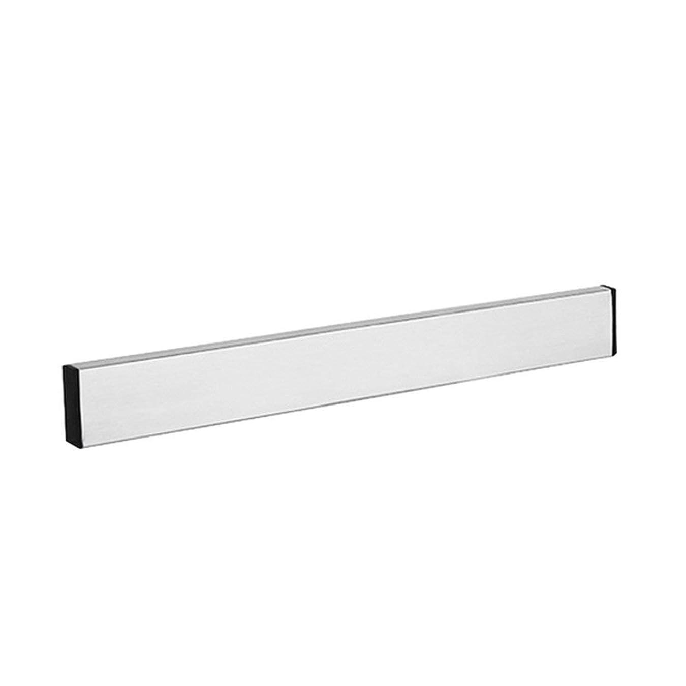 芸術成熟したシルクSaikogoods キッチン用具用の磁気ブロック 壁掛け自己接着ナイフホルダー ステンレススチール 簡単に保存 ナイフラック ストリップ 銀