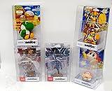 funda de protección amiibo 5x protectora para pequeños amiibos como Zelda Toon Link Twilight Princesa Kirby Super Mario Smash Bros Lana Yoshi 0.5 mm Espesor CLARO DE CRISTAL