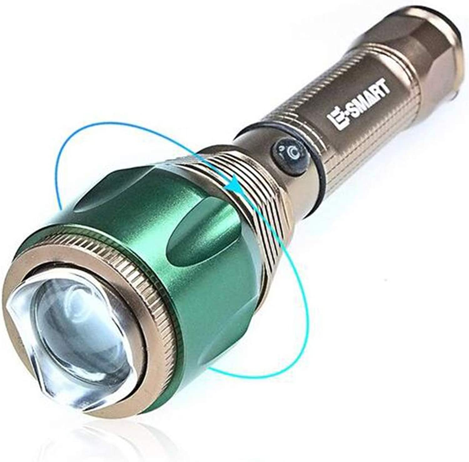 Torch Pocket Flashlight Focusing Rechargeable Flashlight Glare Flashlight T6 Dimming Flashlight