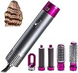 Brosse à air chaud professionnelle 5 en 1 - Sèche-cheveux - Brosse à air chaud - Sèche-cheveux électrique - Ionique - Sèche-cheveux