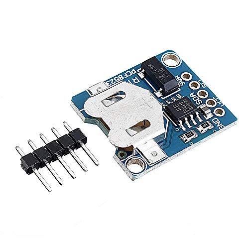 Módulo de sensor y detector de 5 piezas PCF8523 RTC módulo placa digital PCF8523 reloj en tiempo real RTC 3.3V 5V para Arduino - productos que funcionan con placas Arduino oficiales