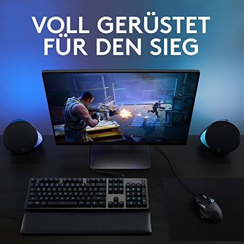 Logitech G502 HERO High-Performance Gaming-Maus mit HERO 25K DPI optischem Sensor, RGB-Beleuchtung, Gewichtstuning, 11 programmierbare Tasten, anpassbare Spielprofile, PC/Mac, Schwarz - 9