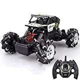 QIXIAOCYB RC Coche Todos los terrenos sin escobillas Coche Off-Road 360 ° Rotating Stunt Buggy High Speed 45km / H Toy Car 2.4GHz Radio Control Coche Bigfoot Monster Truck