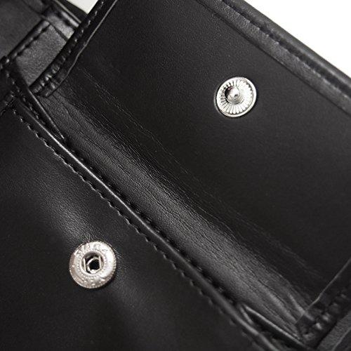 Tottenham Hotspur FC Official Football Gift Embossed Crest Money Wallet Black