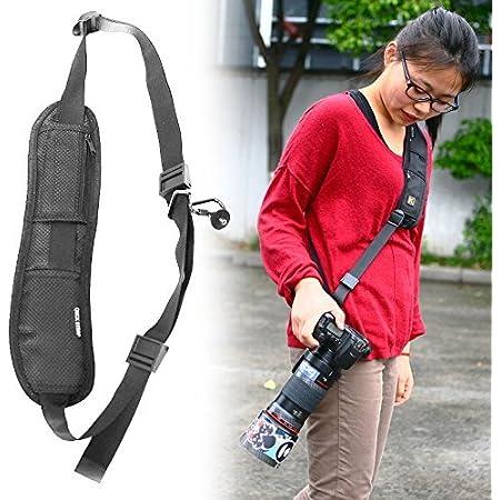 techlife solutions Universal Adjustable Rapid SLR DSLR Camera Shoulder Neck Strap Belt Sling