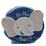 Baby GUND Flappy the Elephant Soft Activity Sensory Stimulating Book, 8'