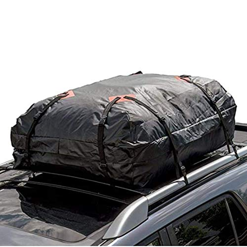 YANG WU Car Roof Bag Carrier, Waterproof Heavy-duty Car Roof Carrier, Suitable for Luggage Storage of All Vehicles
