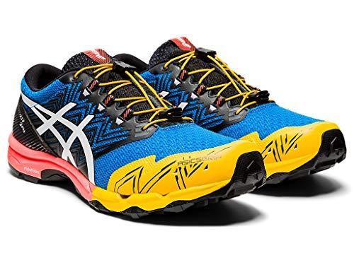 ASICS Men's Gel-Fujitrabuco Sky Running Shoes, 7.5M, Directoire Blue/White