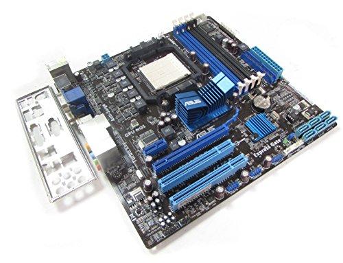 Asus M4A785-M Rev 1,01 G Socket AM2 + / AM3 scheda madre con BP