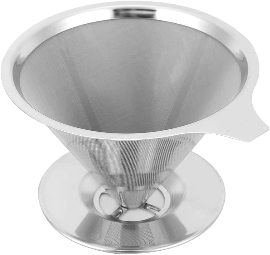Stainless Steel Coffee Filter Max 79% OFF Reusable Sta Portland Mall Holder