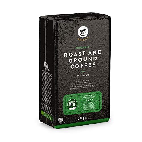 Amazon-Marke: Happy Belly Select Bio Röstkaffee, gemahlen, 4x500g