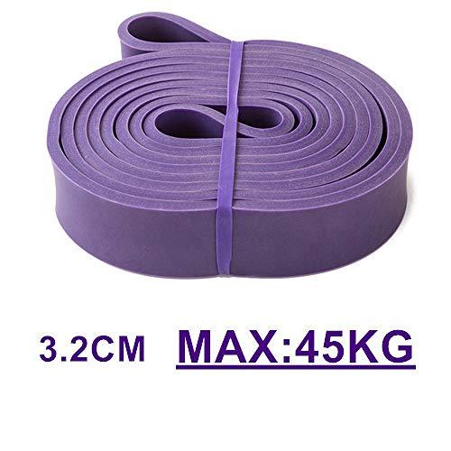 SHDEXIA, Fuß ziehen Seile Stretchschnur, multifunktionale elastische Widerstandsbänder, für Fitness-Seilübungen Fitnessgeräte Pilates Workout Latexschlauch-Seilzugtraining, rot