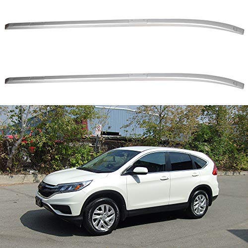 ZENITHIKE Roof Rack Crossbars Side Rails Cargo Carrier 120LBS Capacity Fit for 2012-2016 Honda CR-V Sport Utility 4-Door Bolt-On Top Rail Carries Luggage Carrier - 2pcs Aluminum Cargo Carrier Rails