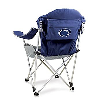 NCAA Penn State Nittany Lions Reclining Camp Chair Navy